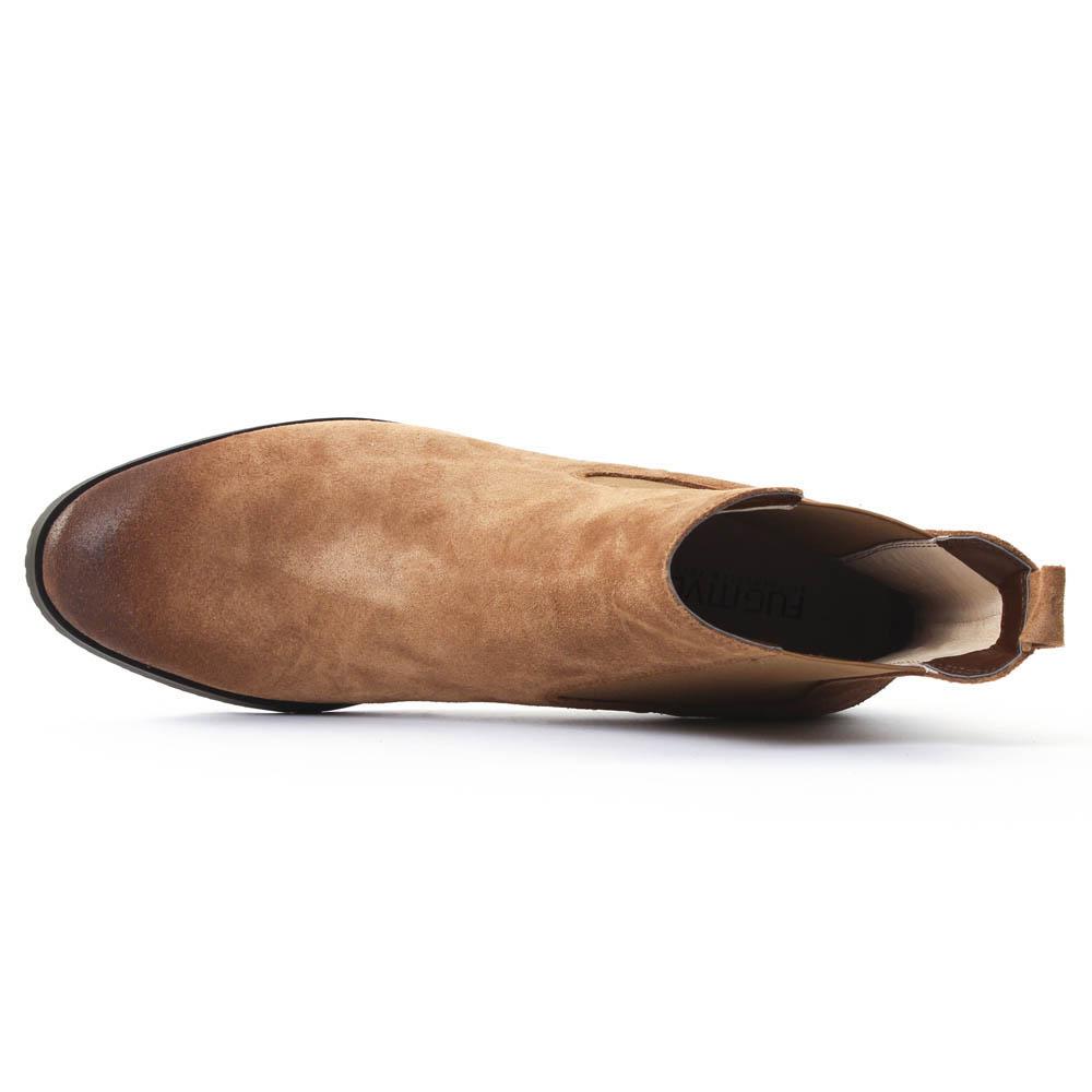 fugitive role velours camel boot lastiqu es velours marron automne hiver chez trois par 3. Black Bedroom Furniture Sets. Home Design Ideas