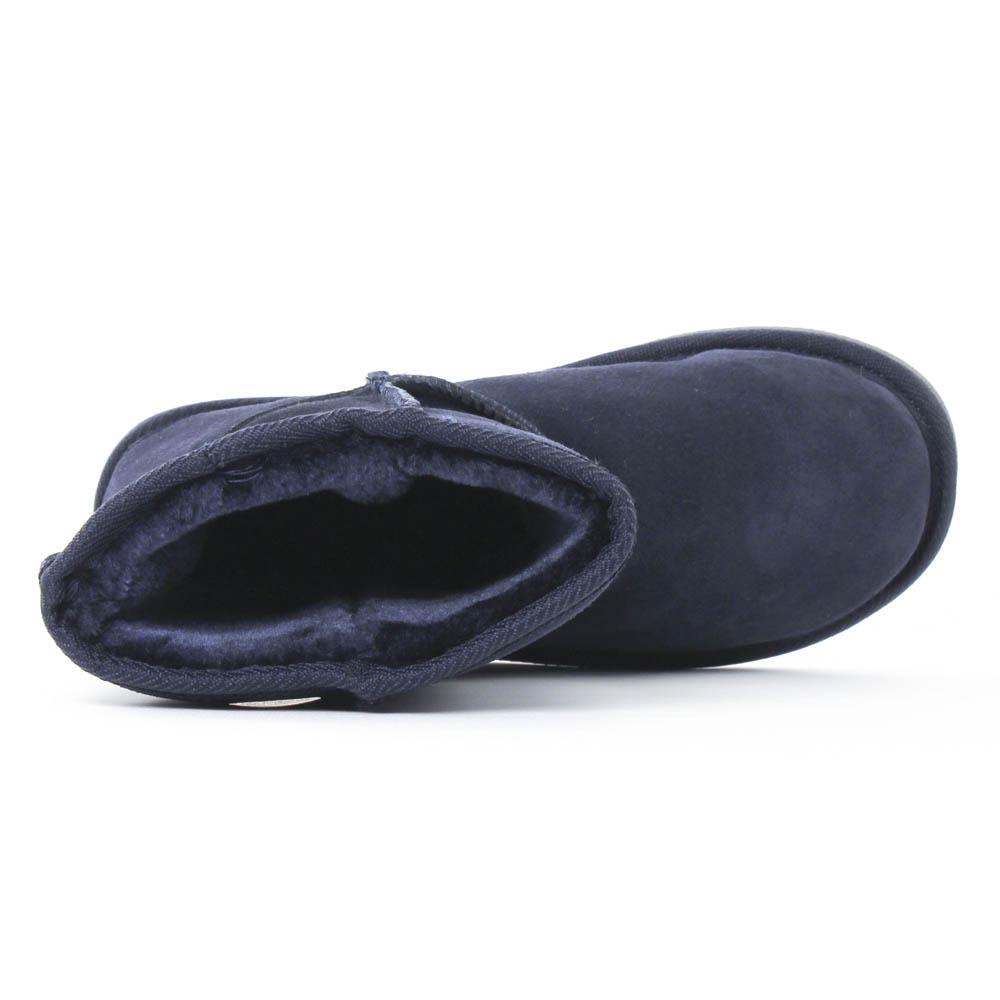 boots fourrées bleu marine mode femme automne hiver vue 5