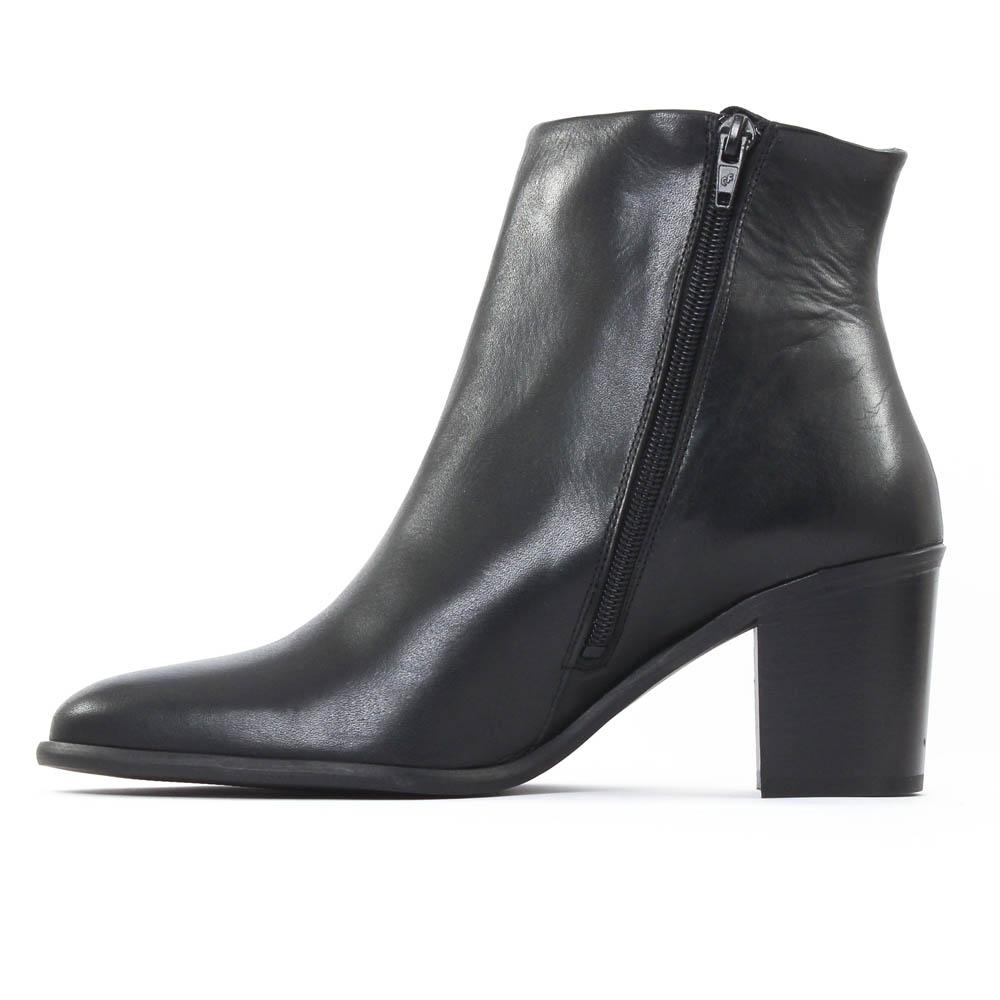 scarlatine 2730 noir boot talon noir automne hiver chez. Black Bedroom Furniture Sets. Home Design Ideas