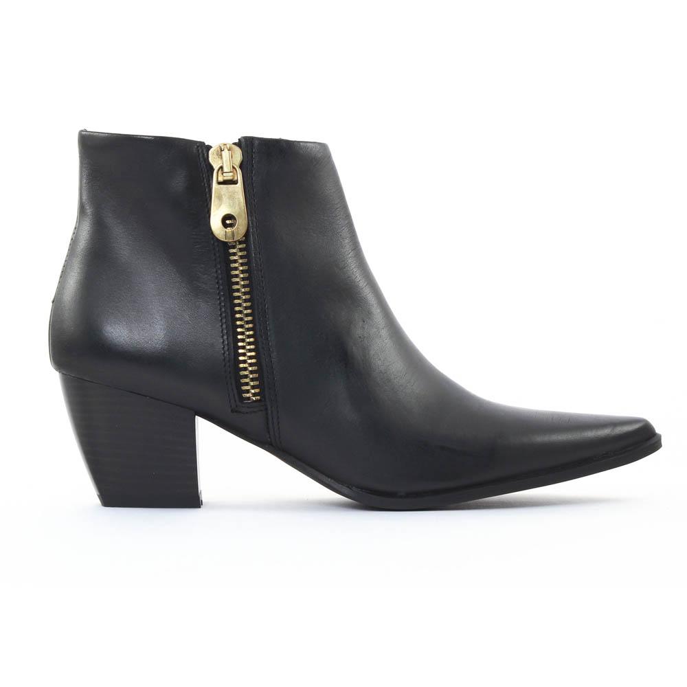 scarlatine al005 noir boot talon noir automne hiver chez trois par 3. Black Bedroom Furniture Sets. Home Design Ideas