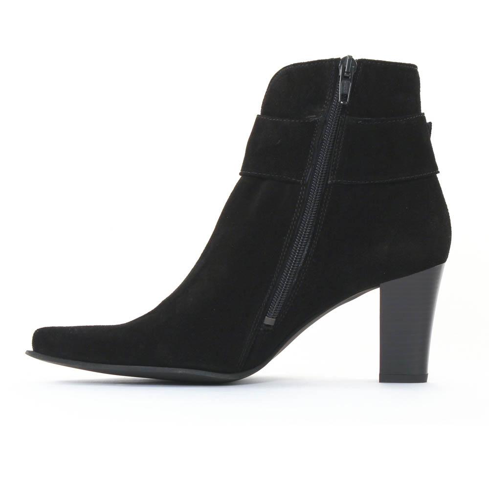 scarlatine fanta noir boot talon noir automne hiver chez. Black Bedroom Furniture Sets. Home Design Ideas