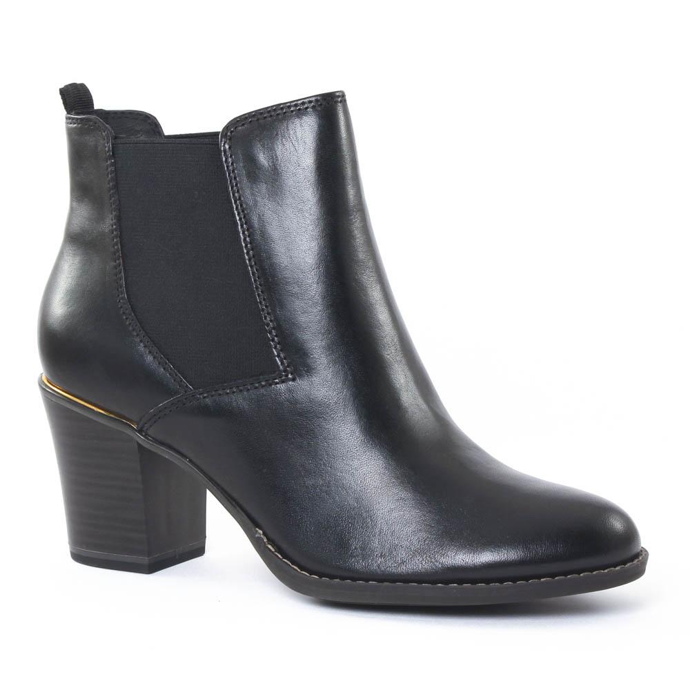 tamaris 25365 black boot talon noir automne hiver chez. Black Bedroom Furniture Sets. Home Design Ideas