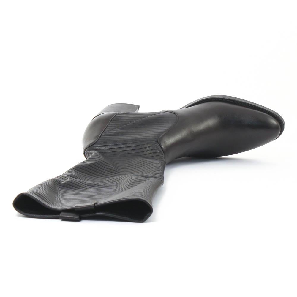jb martin edene noir botte stretch noir automne hiver chez trois par 3. Black Bedroom Furniture Sets. Home Design Ideas