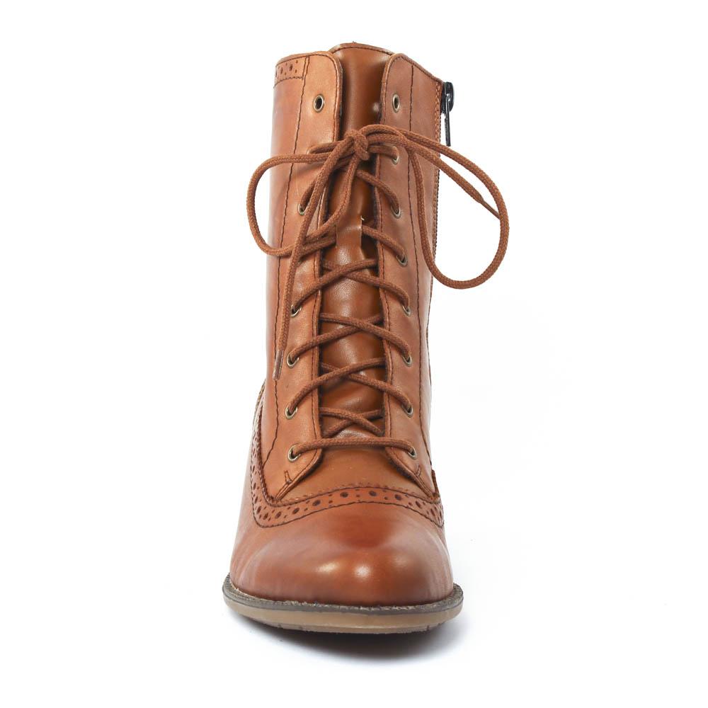 rieker z7644 muscat | bottine à lacets marron clair automne hiver