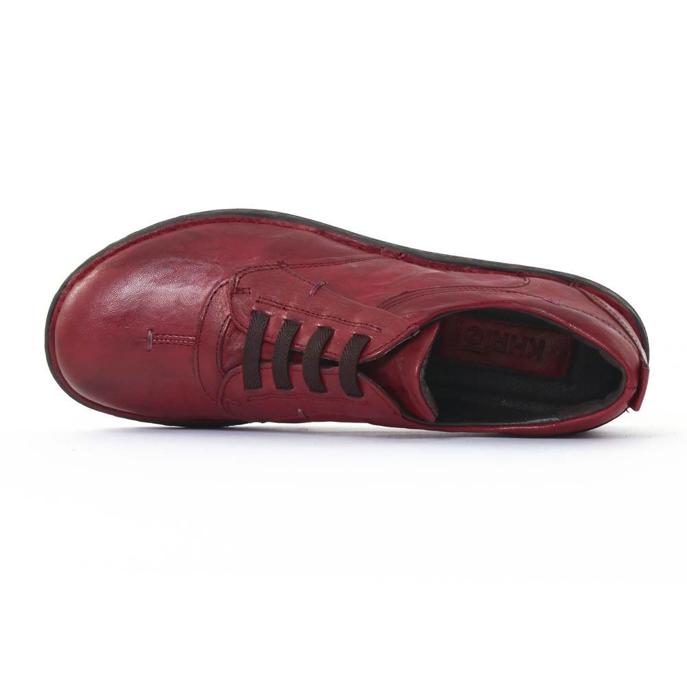 khrio 1005 rouge derbys bordeaux automne hiver chez trois par 3. Black Bedroom Furniture Sets. Home Design Ideas