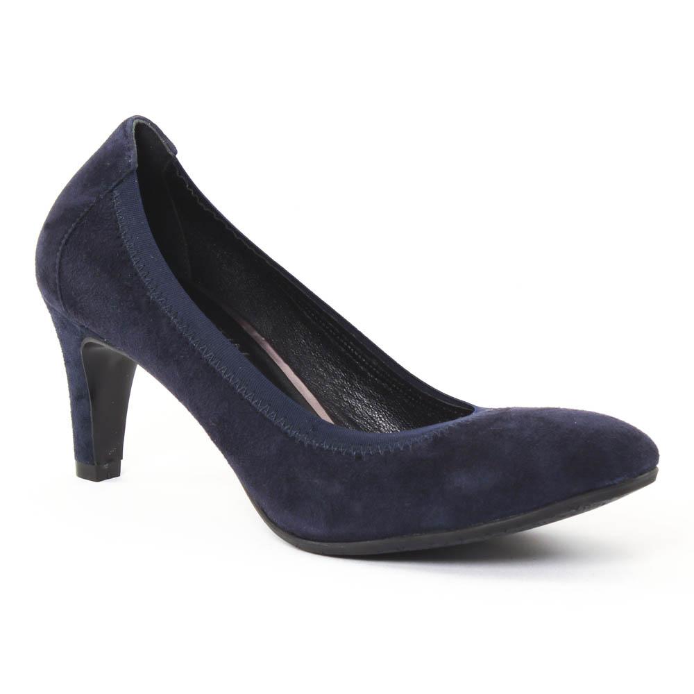 chaussures femme escarpins bleu marine. Black Bedroom Furniture Sets. Home Design Ideas