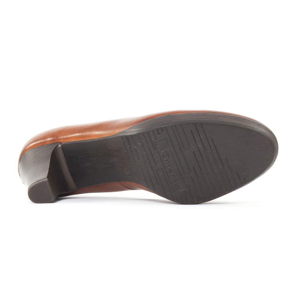 tamaris 22410 muscat escarpins marron automne hiver chez. Black Bedroom Furniture Sets. Home Design Ideas