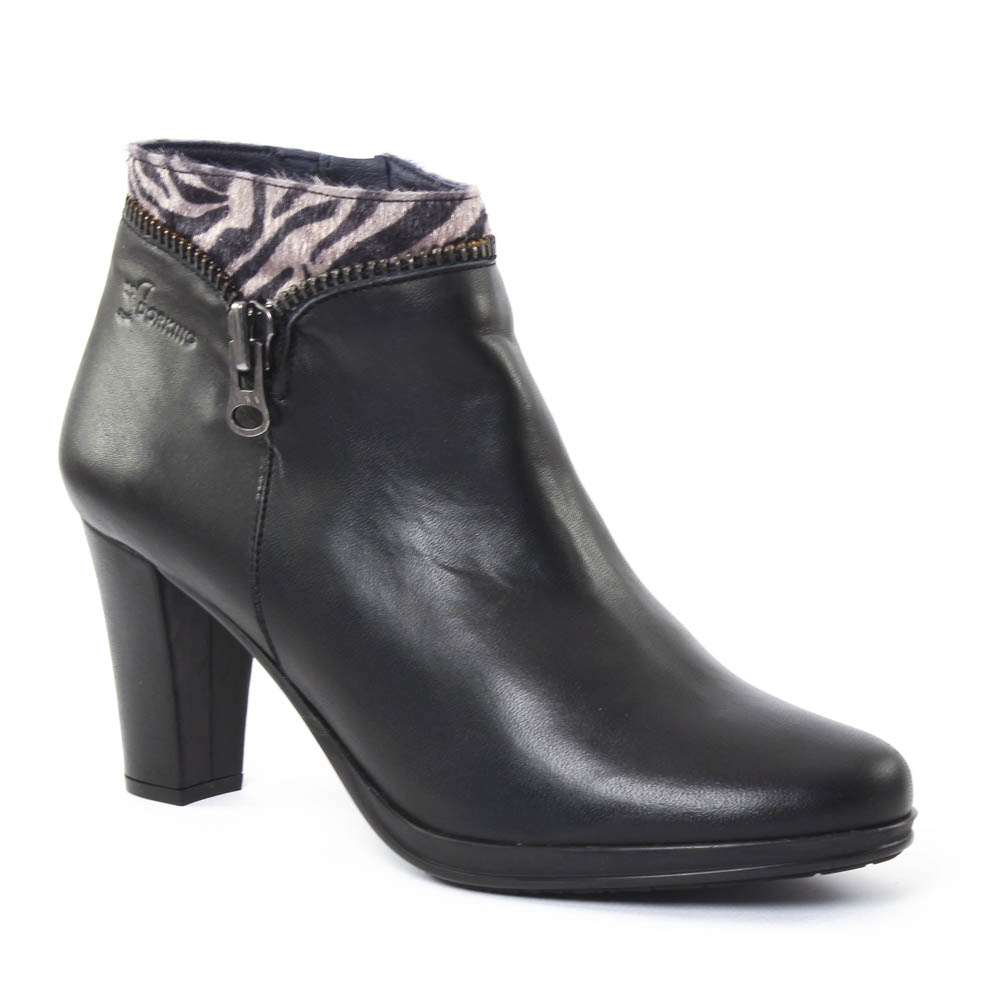low boots noir mode femme automne hiver vue 1