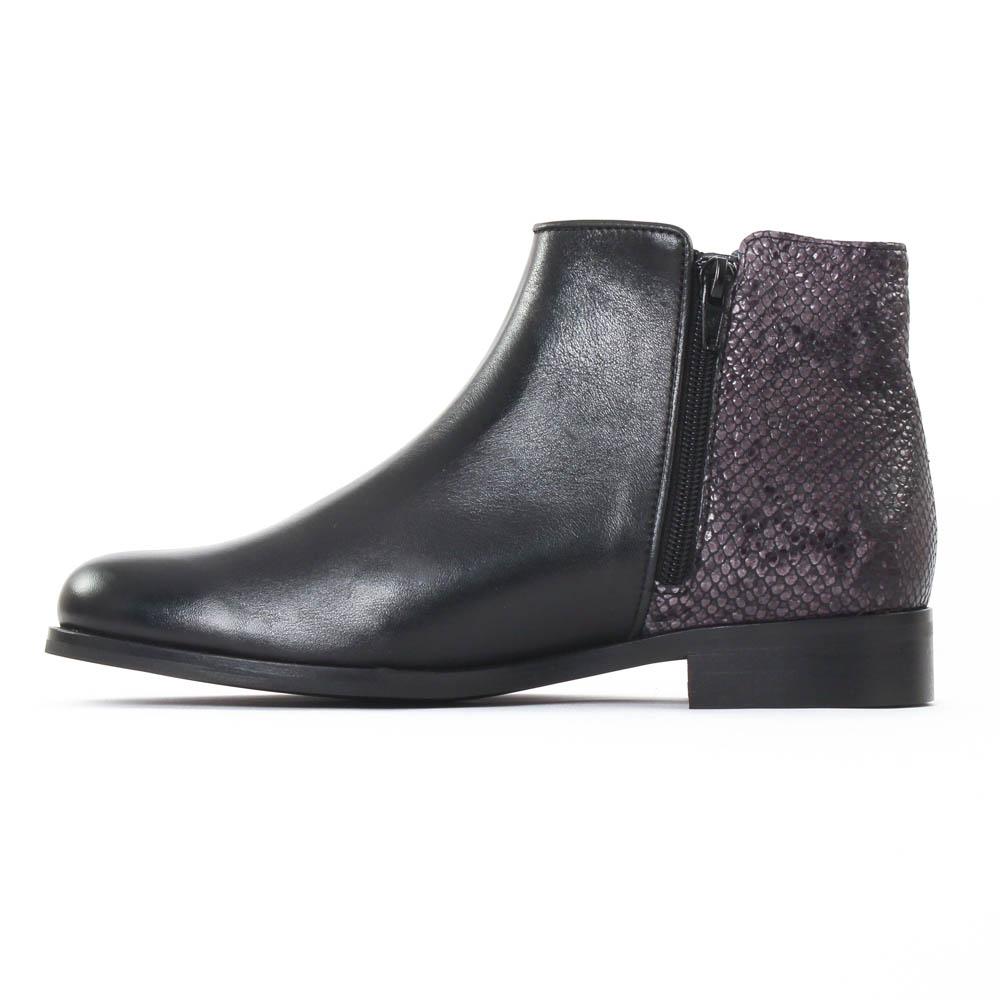 pintodiblu pintodiblu 76950 noir low boots noir gris taupe automne hiver chez trois par 3. Black Bedroom Furniture Sets. Home Design Ideas