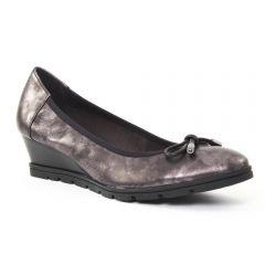 ballerines-talons-compenses doré taupe: même style de chaussures en ligne pour femmes que les Scarlatine