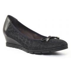 ballerines-talons-compenses noir: même style de chaussures en ligne pour femmes que les Marco Tozzi