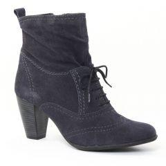 Tamaris 25801 Navy : chaussures dans la même tendance femme (boots bleu marine) et disponibles à la vente en ligne