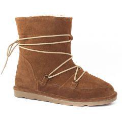 Chaussures femme hiver 2015 - boots fourrées les tropéziennes marron