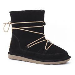 Chaussures femme hiver 2015 - boots fourrées les tropéziennes noir