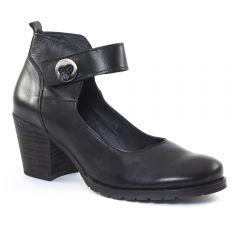 Chaussures femme hiver 2015 - babies talon confort scarlatine noir