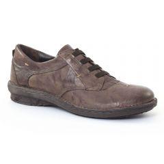 Chaussures femme hiver 2015 - derbys Khrio marron taupe