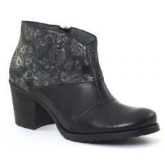 Scarlatine 3644 Noir : chaussures dans la même tendance femme (low-boots noir) et disponibles à la vente en ligne