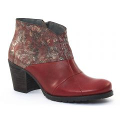 low-boots rouge: même style de chaussures en ligne pour femmes que les Dorking