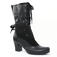 Chaussures femme hiver 2015 - mi-bottes Mamzelle noir