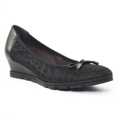 Ballerines Mamzelle Mythe Noir, vue principale de la chaussure femme