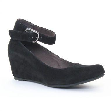 Ballerines Mamzelle Sarah noir, vue principale de la chaussure femme