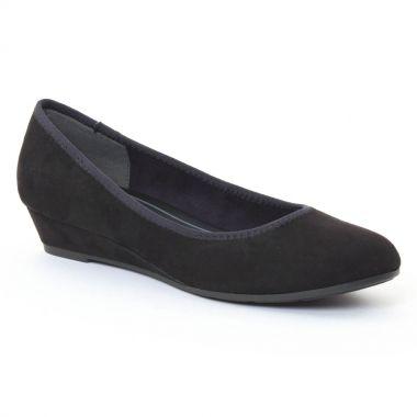 Ballerines Marco Tozzi 22200 Black, vue principale de la chaussure femme
