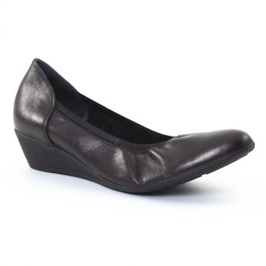 Ballerines Scarlatine 7853 Noir, vue principale de la chaussure femme