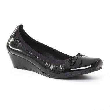 Ballerines Jb Martin Nolton Vernis noir, vue principale de la chaussure femme