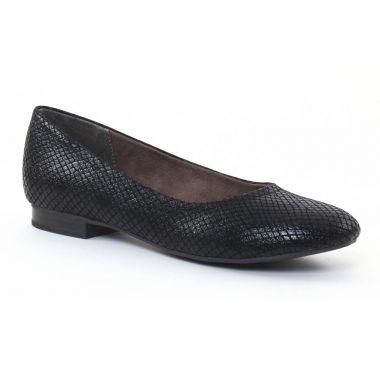 Ballerines Tamaris 22115 Black, vue principale de la chaussure femme