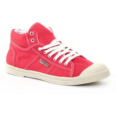 Tennis Et Baskets Mode Les Tropeziennes Fictive Rouge, vue principale de la chaussure femme