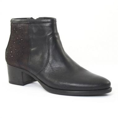 Bottines Et Boots Dorking 6517 Noir, vue principale de la chaussure femme
