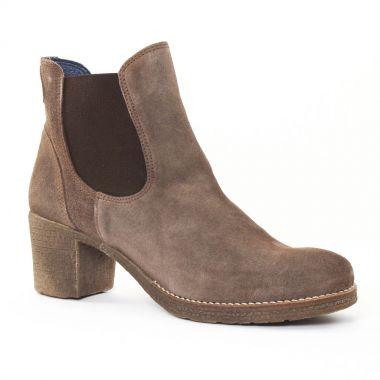 Bottines Et Boots Pintodiblu PintoDiBlu 73130 Taupe, vue principale de la chaussure femme