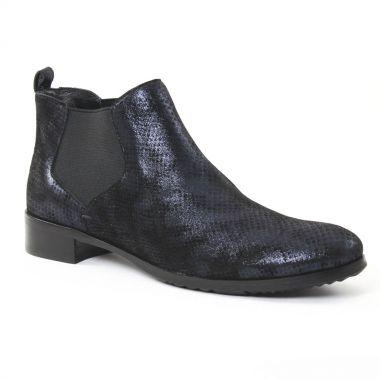 Bottines Et Boots Jb Martin Kelsa Bleu Nuit, vue principale de la chaussure femme