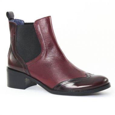 Bottines Et Boots Costa Costa PintoDiBlu 78440 bordeaux, vue principale de la chaussure femme