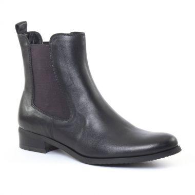 Bottines Et Boots Fugitive Role Nappa noir, vue principale de la chaussure femme
