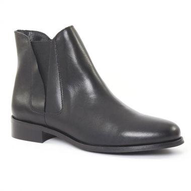 Bottines Et Boots Scarlatine 2693 noir, vue principale de la chaussure femme