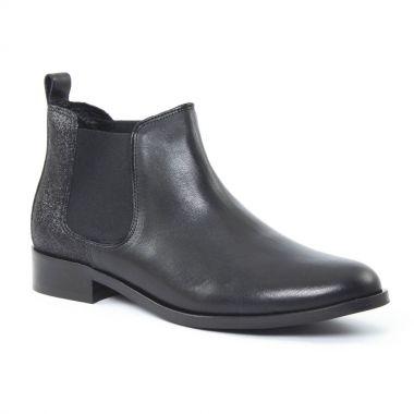 Bottines Et Boots Scarlatine 6444 Noir, vue principale de la chaussure femme