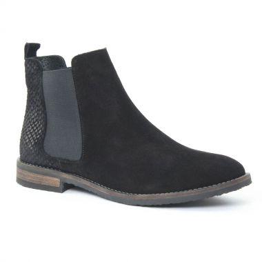 Bottines Et Boots Scarlatine 6605 Noir, vue principale de la chaussure femme