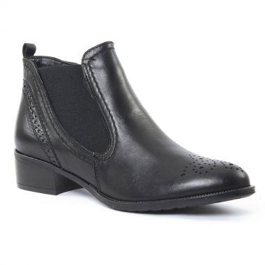 Bottines Et Boots Tamaris 25488 Black, vue principale de la chaussure femme