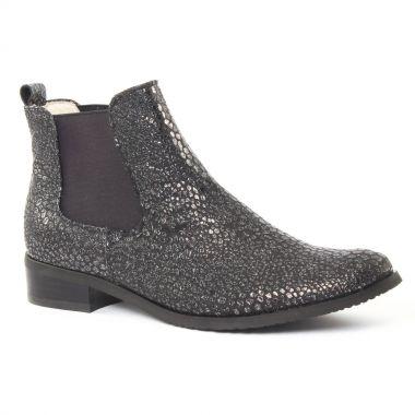 Bottines Et Boots Fugitive Rola Galucha Noir, vue principale de la chaussure femme