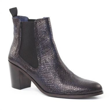 Bottines Et Boots Pintodiblu PintoDiBlu 77080 Bleu, vue principale de la chaussure femme