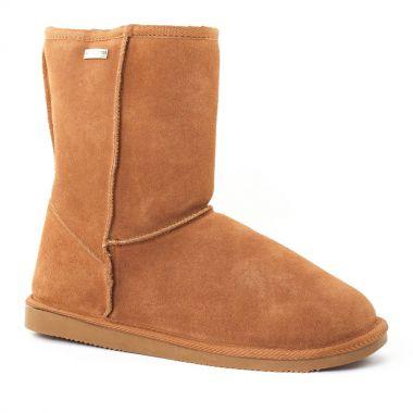 Bottines Et Boots Les Tropeziennes Snow Camel, vue principale de la chaussure femme