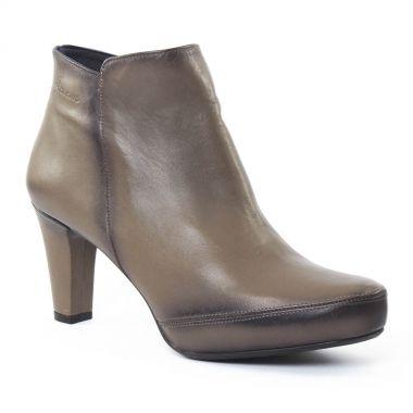 Bottines Et Boots Dorking 6413 Blesa graphite, vue principale de la chaussure femme