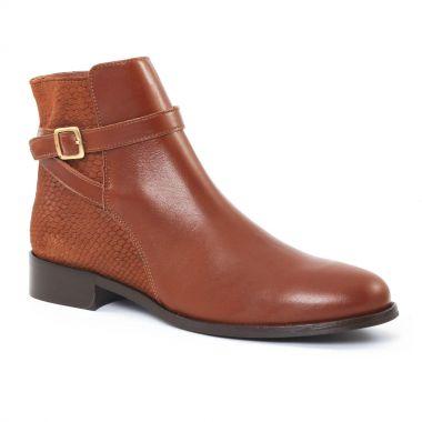 Bottines Et Boots Scarlatine 2718 Cognac, vue principale de la chaussure femme