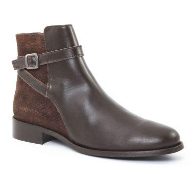 Bottines Et Boots Scarlatine 2718 Marron, vue principale de la chaussure femme