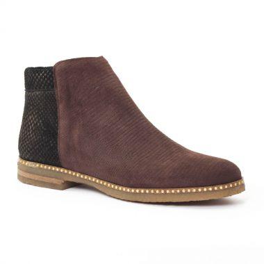 Bottines Et Boots Axell Rime Choco Bronze, vue principale de la chaussure femme