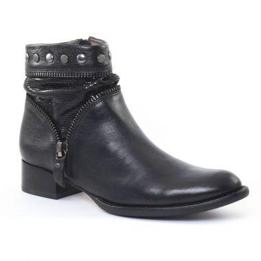 Bottines Et Boots Mamzelle Jeba Noir, vue principale de la chaussure femme