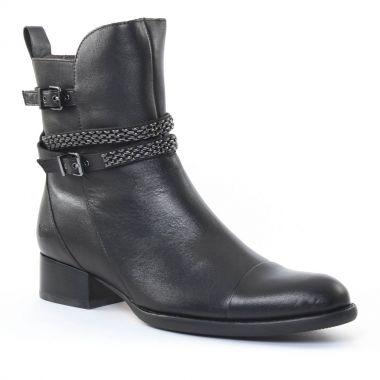 Bottines Et Boots Mamzelle Jespa Noir, vue principale de la chaussure femme
