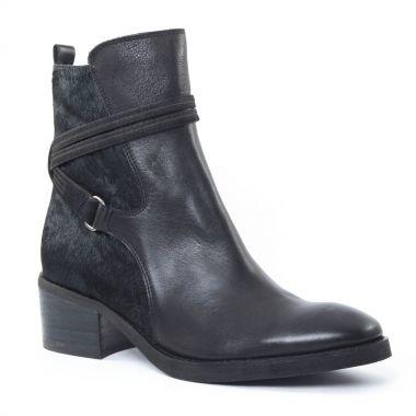 Bottines Et Boots Mamzelle Panter Noir, vue principale de la chaussure femme