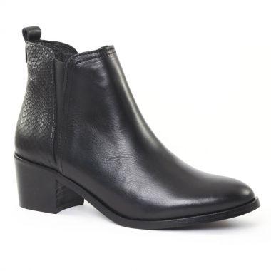Bottines Et Boots Scarlatine 6551 Noir, vue principale de la chaussure femme